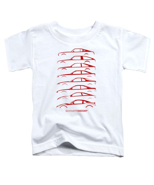 Japanese Coupe Silhouettehistory Toddler T-Shirt