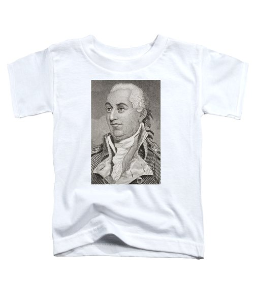 John Barry 1745 - 1803. Irish Born Toddler T-Shirt