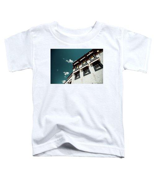 Jokhang Temple Wall Lhasa Tibet Artmif.lv Toddler T-Shirt