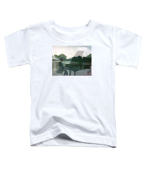 Justin Levitt Steinway Piano Spreckles Lake Toddler T-Shirt