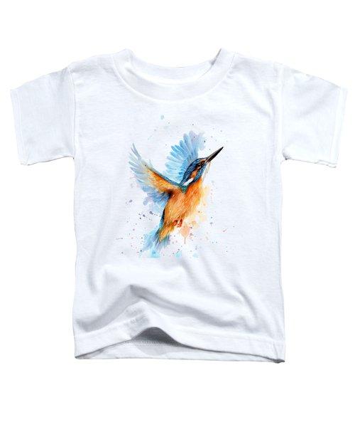 Kingfisher Toddler T-Shirt by Sarah Stribbling