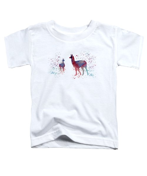 Llamas Toddler T-Shirt by Mordax Furittus
