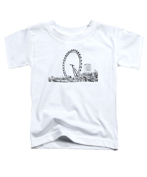 London Eye Toddler T-Shirt by ISAW Gallery