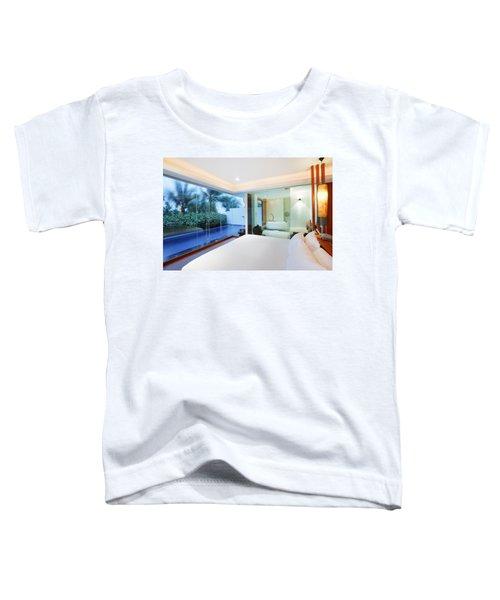 Luxury Bedroom Toddler T-Shirt