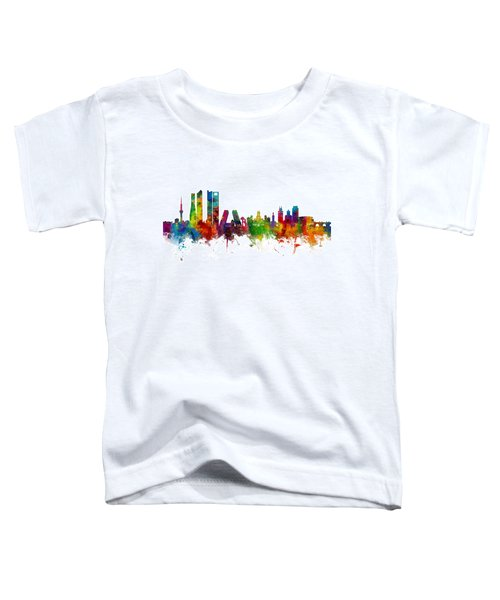 Madrid Spain Skyline Toddler T-Shirt