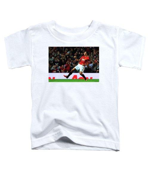 Manchester United's Zlatan Ibrahimovic Celebrates Toddler T-Shirt
