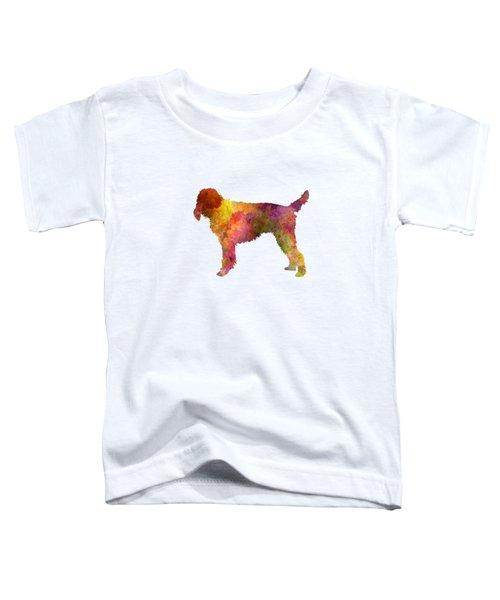 Medium Griffon Vendeen In Watercolor Toddler T-Shirt