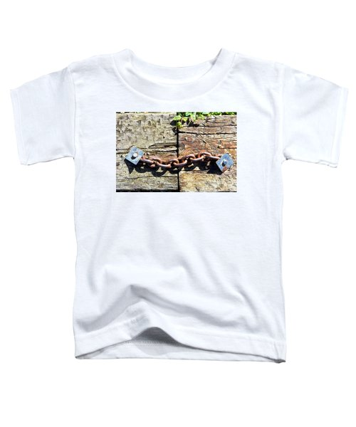 Metal Chain Toddler T-Shirt