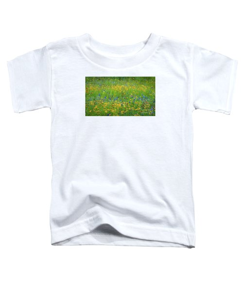 Mixed Wildflowers In Texas 538 Toddler T-Shirt