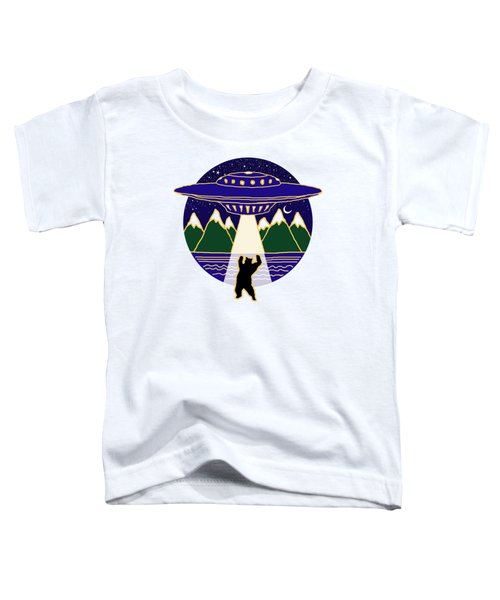 Mothership Takes Bear Toddler T-Shirt
