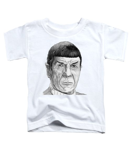 Mr Spock Toddler T-Shirt