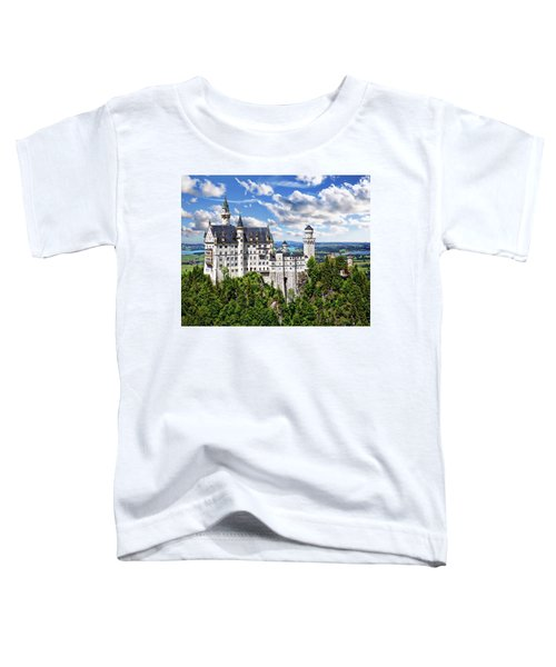 Neuschwanstein Castle Toddler T-Shirt