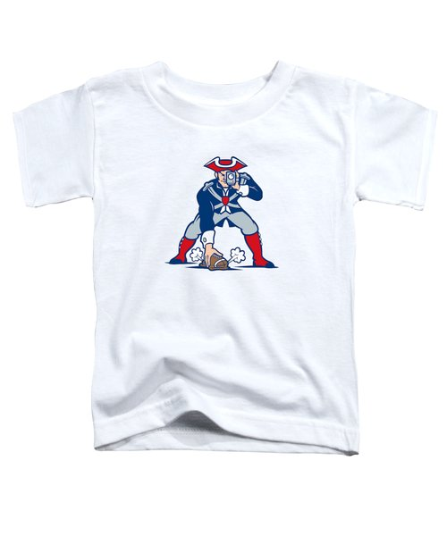 New England Patriots Parody Toddler T-Shirt by Joe Hamilton