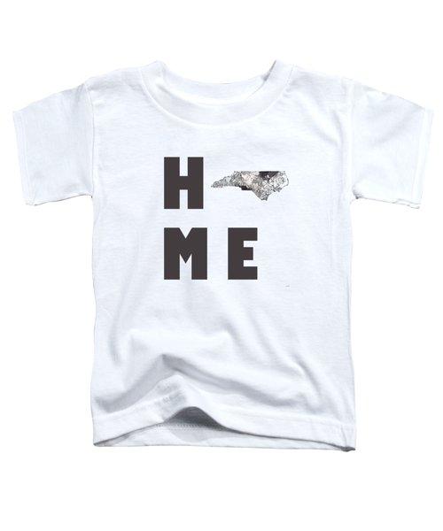 North Carolina State Map Toddler T-Shirt
