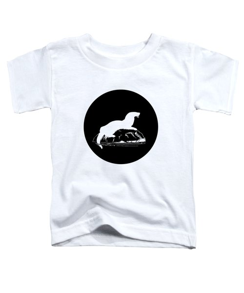 Otter Toddler T-Shirt by Mordax Furittus