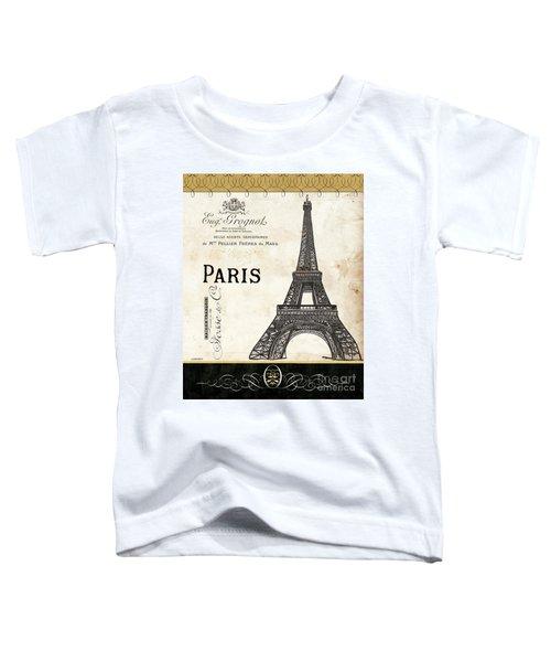 Paris Ooh La La 1 Toddler T-Shirt