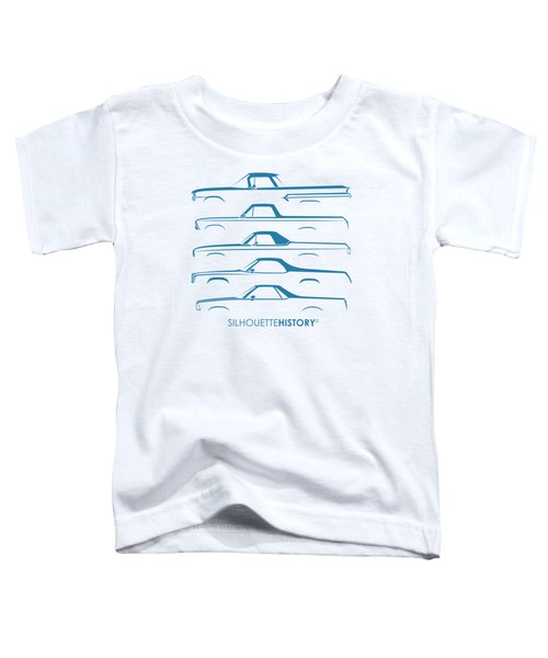 Pickupino Silhouettehistory Toddler T-Shirt