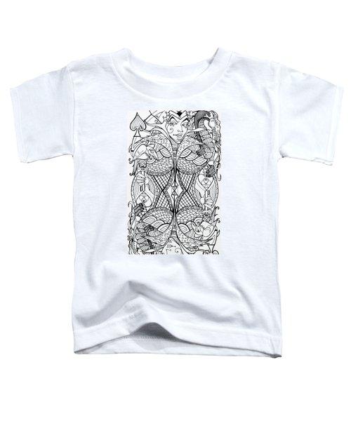 Queen Of Spades 2 Toddler T-Shirt