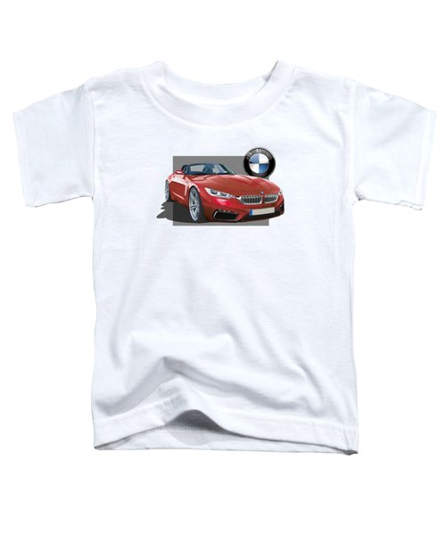 Red 2018 B M W  Z 5 With 3 D Badge  Toddler T-Shirt