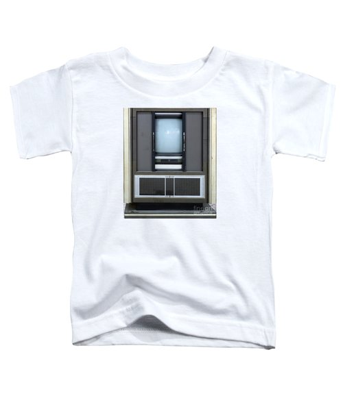 Retro Style Television Set Toddler T-Shirt