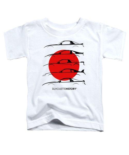 Rice Bomber Silhouettehistory Toddler T-Shirt