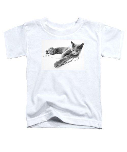 Russian Blue Toddler T-Shirt