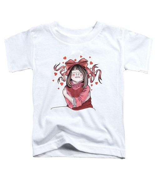 Selfie Toddler T-Shirt by Deadcharming Art