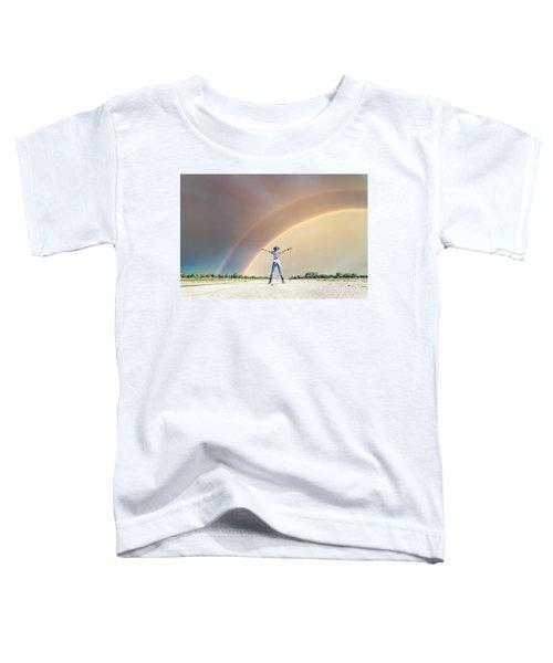 Sing Me A Rainbow Toddler T-Shirt