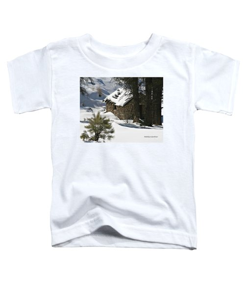 Snow Cabin Toddler T-Shirt