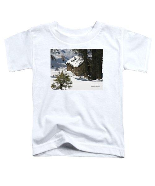 Snow Cabin Toddler T-Shirt