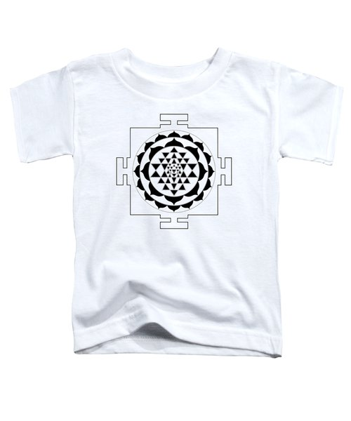 Sri Yantra Toddler T-Shirt