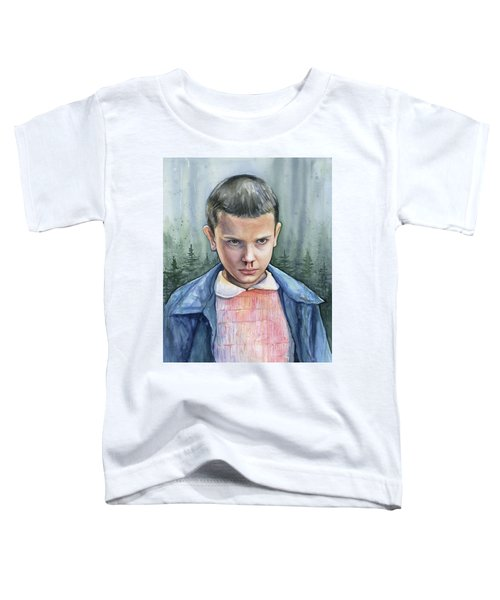 Stranger Things Eleven Portrait Toddler T-Shirt