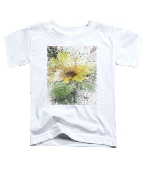 Sunflower Canvas Toddler T-Shirt