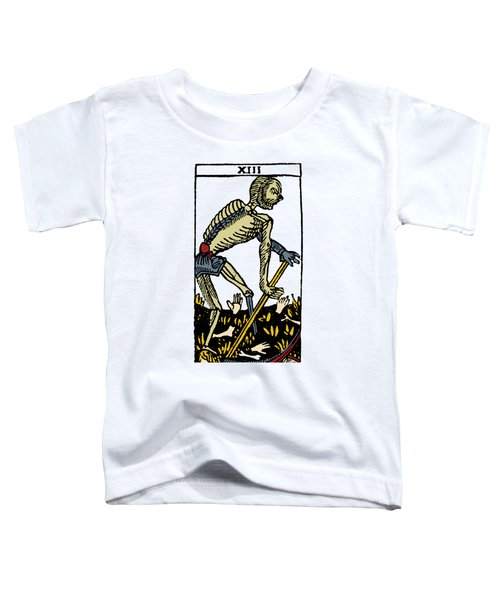 Tarot Card Death Toddler T-Shirt