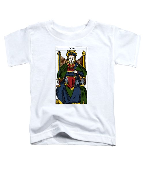 Tarot Card Justice Toddler T-Shirt