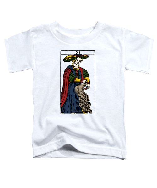Tarot Card Strength Toddler T-Shirt