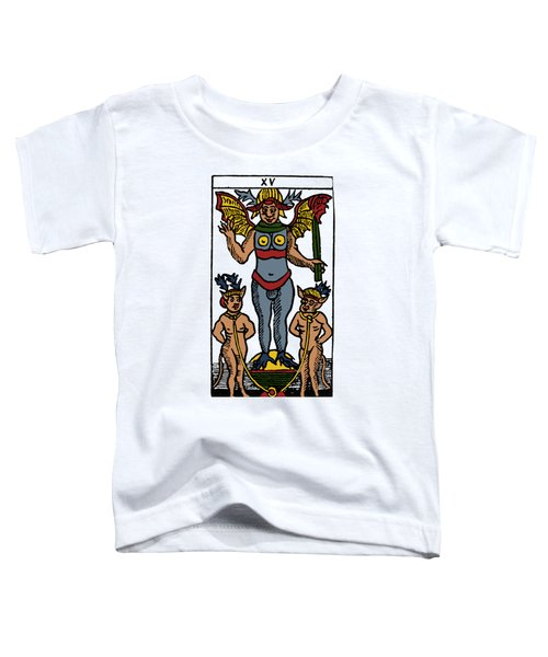Tarot Card The Devil Toddler T-Shirt