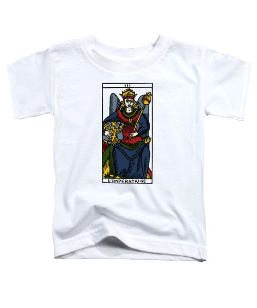 Tarot Card The Empress Toddler T-Shirt
