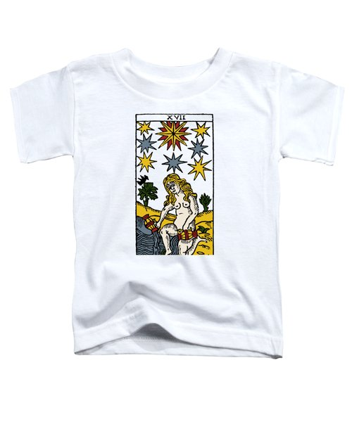 Tarot Card The Stars Toddler T-Shirt