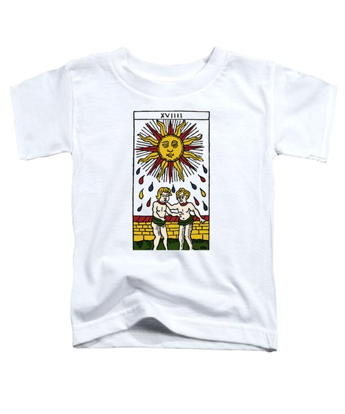 Tarot Card The Sun Toddler T-Shirt
