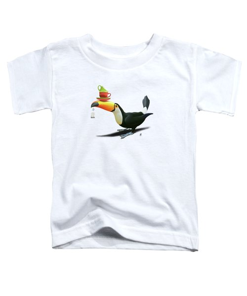 Tea For Tou Wordless Toddler T-Shirt by Rob Snow