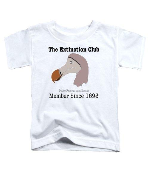The Extinction Club - Dodo Toddler T-Shirt