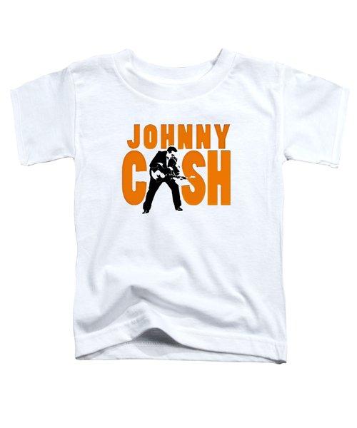 The Fabulous Johnny Cash Toddler T-Shirt