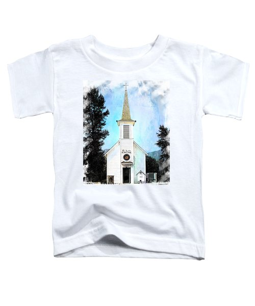 The Little White Church In Elbe Toddler T-Shirt