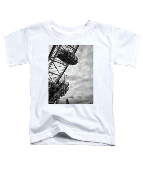The London Eye Toddler T-Shirt by Martin Newman