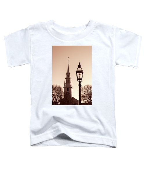 Trinity Church Newport With Lamp Toddler T-Shirt