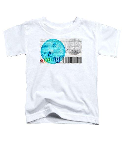 Urban Graffiti - Binary Evolution Toddler T-Shirt