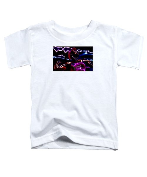 Venus Williams Match Point Toddler T-Shirt by Brian Reaves