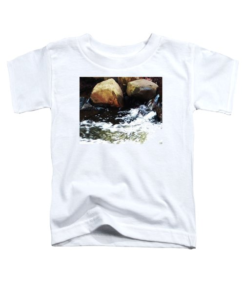 Waterfall Abstract Toddler T-Shirt
