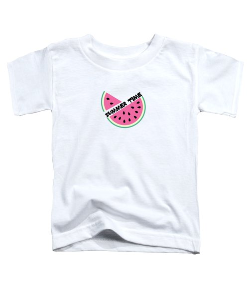 Watermelon Toddler T-Shirt by Alina Krysko